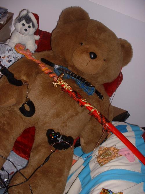 bondage teddy bear